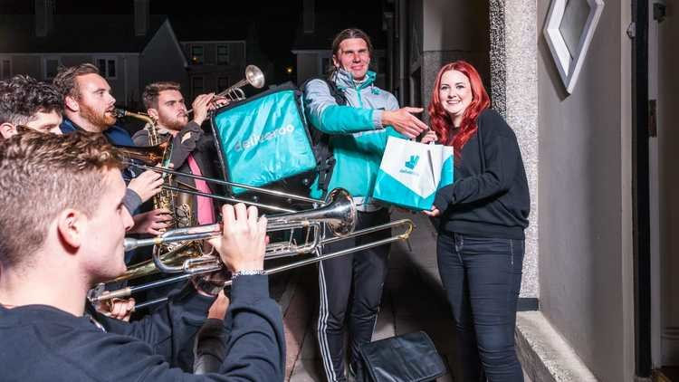 Deliveroo Brings the Brass In