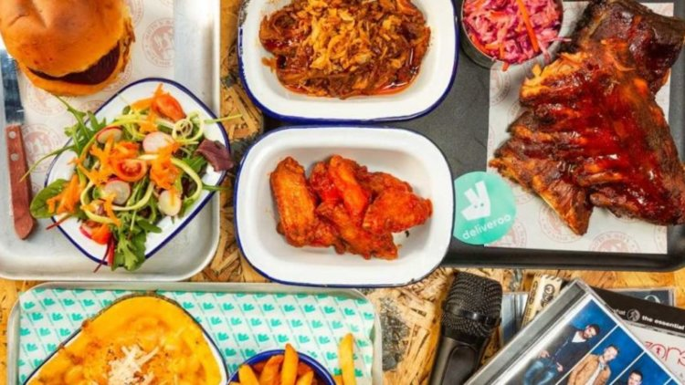 WHEN THE GOING GETS TOUGH, DELIVEROO GETS GOING